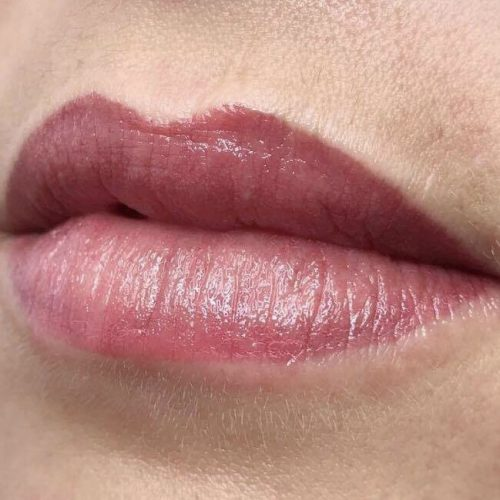 MelissaCarr tattooed lips 14