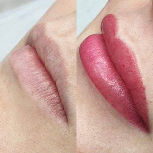 MelissaCarr tattooed lips 3