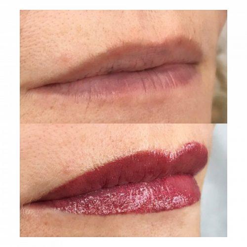 MelissaCarr tattooed lips 8