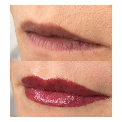 MelissaCarr tattooed lips 9