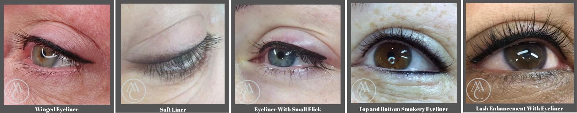 Cosmetic Tattoo Eyeliner LOOKS